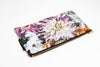 Dahlia Dream Linen Clutch