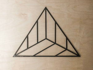 Geometric Triangle Wall Art // Home Decor // Baby Nursery // Bedroom