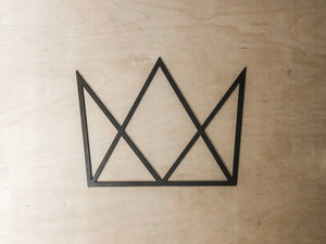 Geometric Crown Wall Art