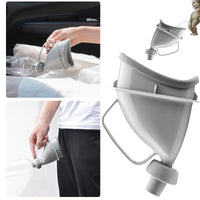 Vehemo Unisex Portable Car  Urine Bottle