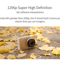 YI Smart Dash Camera International Version Wi-Fi Night Vision HD