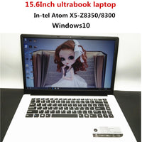 15.6 inch 4G RAM 64G ROM Intel Atom X5-8350 Windows10