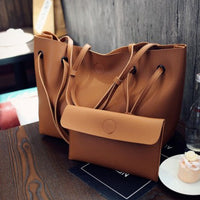 Fashion Shoulder Tote Bag Two Piece Crossbody Bag