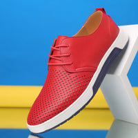 Merkmak  Men Casual Shoes Leather