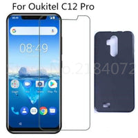 Protection Glass and Case for Oukitel C12 Pro