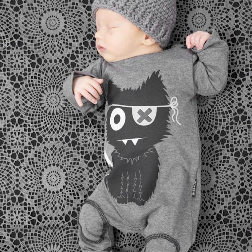 TANGUOANT Baby Boy Clothes Long Sleeve Baby Rompers Newborn