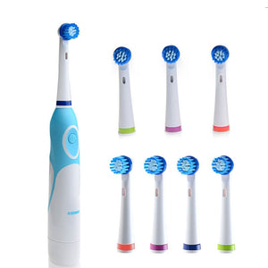 AZDENT 8 Heads Electric Toothbrush Rotating Type