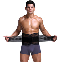 Adjustable Men Abdomen Waist  Belt Wrap
