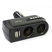 Car Cigarette Lighter 2 USB Splitter