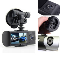 Podofo Dual Camera Car DVR with GPS and 3D G-Sensor