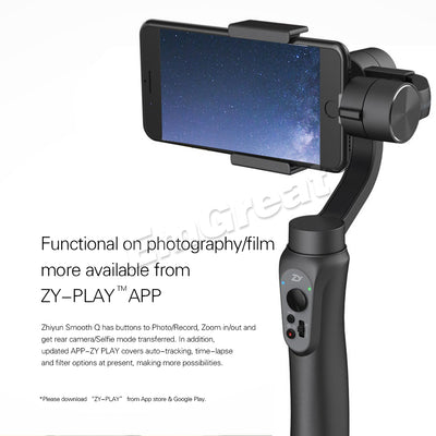 Zhiyun Smooth Q Stabilizer for iPhone X 8 7 Samsung S7 S6
