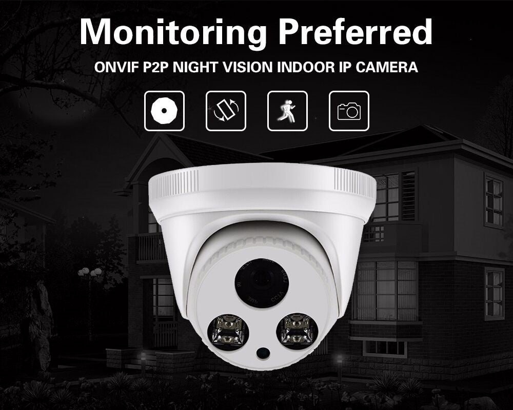 MISECU 360 rotation manually viewing Onvif CCTV Camera