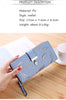 2018 New Brand Women Wallet Soft PU Leather Purse