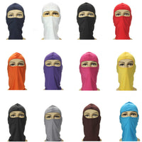 Motorcycle Cycling Ski Neck protecting Lycra Full Face Mask
