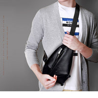 GSQ Hot Genuine Leather Men Shoulder Bag Fashion