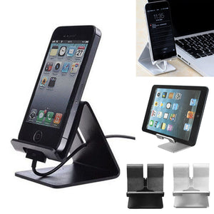 Universal Aluminum Alloy Stand Holder For Cell Phone, Tablet, etc.