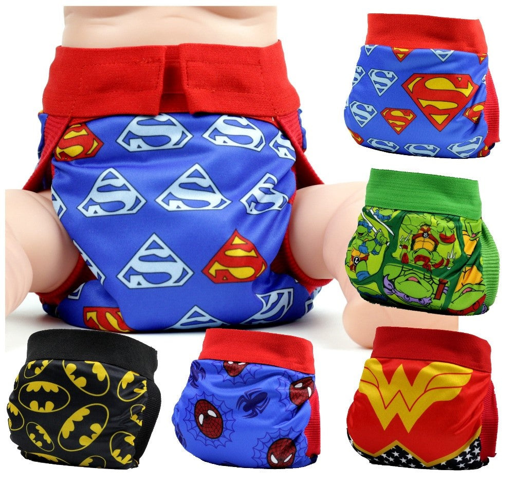 Diaper costume super power cloth diaper nappies