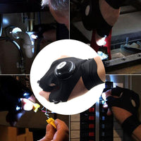 Hand Gloves with LED Light
