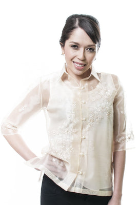 BARONG WOMEN'S 01 - FILIPINIANA