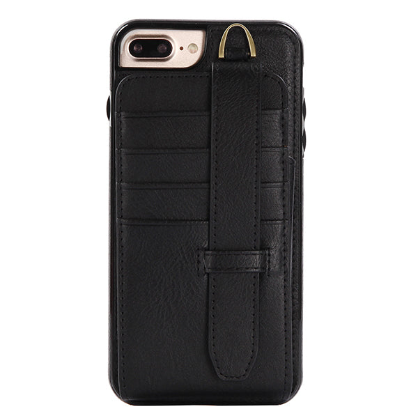 Genuine Leather iPhone6/6s/6+/6s +/7/7+ Case Wallet Card Holder Phone Bag