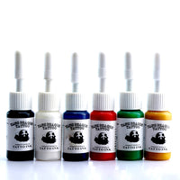 6 Colors / Bottles Tattoo Ink Pigment