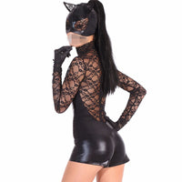 Cat woman Halloween Costume