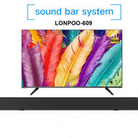 LONPOO Bluetooth TV Speaker Powerful 40W Soundbar