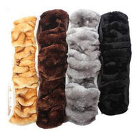 Soft Warm Plush Winter Car Steering-Wheel Cover Elastic Universal Steering Wheel Cover Auto Supplies Cars Accessories