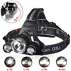 POPPAS LED Headlamp 10000LM XML-T6 Headlight