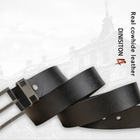DINISITON Cow Genuine Leather Belts for Men