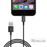 BlitzWolf® BW-MF1 USB Cable iPhone 6, 6P+, 5, 5S, iPad, iPod, 3.3 ft