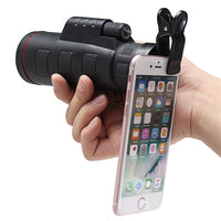 HD Clip-on Optical Zoom Telescope Camera Lens for Phone Tablet