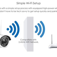 ZOSI 1080P Wi-Fi IP CCTV Camera