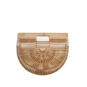 Bamboo Bags for Women 2020 Beach Handbags