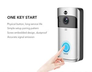 EKEN Remote Control Video Doorbell 2 720P HD Wi-Fi Wireless Smart Home