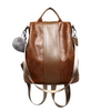 2020 new soft leather backpack