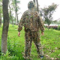 Hunting clothes New 3D maple leaf Bionic Ghillie Suits Yowie