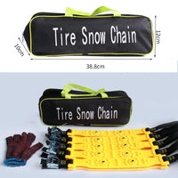 10 pcs TPU Car Tire Anti-Skid Snow Chains