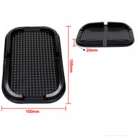 SEKINEW Black Car Anti Non-Slip Pad Mat