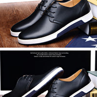 Merkmak  Luxury Brand Men Casual Leather Shoes
