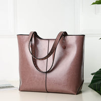 Fashion Women  Luxury Brand PU Leather Handbags