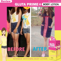 SET Gluta Prime Body Lotion 300ml + Gluta Prime Plus 2,000,000 MG