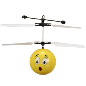 Hand Induction Flying Facial Expression Toy for Kid