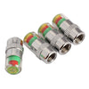 4Pcs Car Auto Air Pressure Alert Indicator