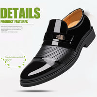 Misalwa 2018 Summer Men Hollow Out Men Formal Shoes