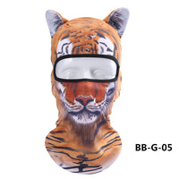 Unisex Motorcycle Face Mask 3D Animal