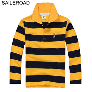 SAILEROAD 3-15 Year Juvenile Big Kids Boys Polo Shirts