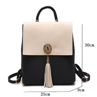 Kavard Tassel Women Small Backpack