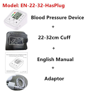 Automatic Digital Arm Blood Pressure Monitor BP