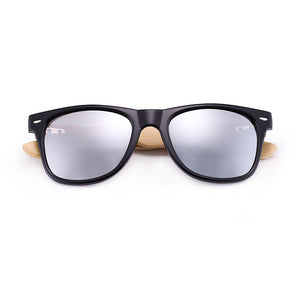 HU WOOD Premium Natural Frames Original Bamboo Sunglasses